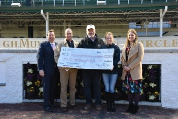 CHURCHILL DOWNS, KENTUCKY HBPA CONTRIBUTE $28,410 TO THOROUGHBRED AFTERCARE ALLIANCE