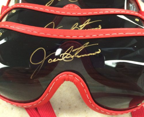 TAA and PDJF Team Up for Jockey Goggle Fundraiser