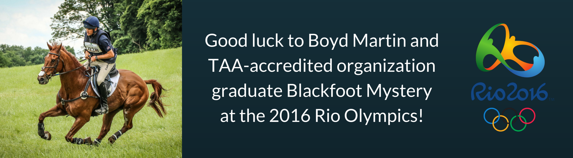 Boyd Martin Blackfoot Mystery Olympics