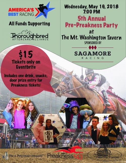 ABR Preakness Party to Benefit TAA