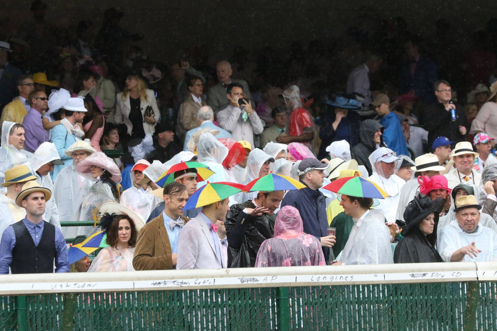 Crowd at the 2018 Kentucky Derby