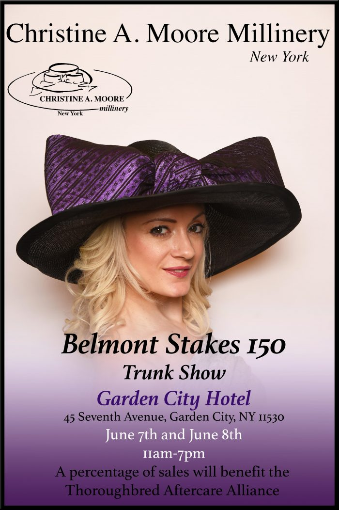 cam hats garden city belmont stakes