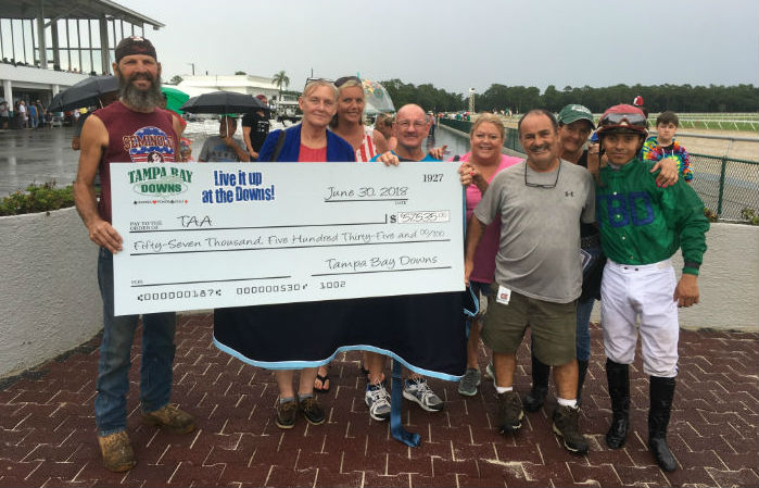 tampa bay downs check presentation