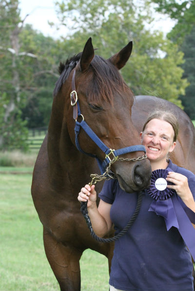 New Vocations/TAA graduate at New Vocations Show