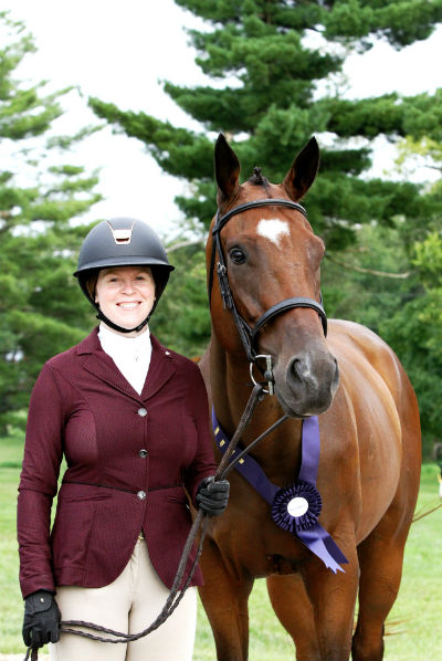 TAA graduate at New Vocations Show