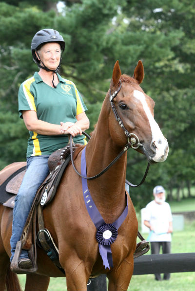 Western pleasure at New Vocations horse show