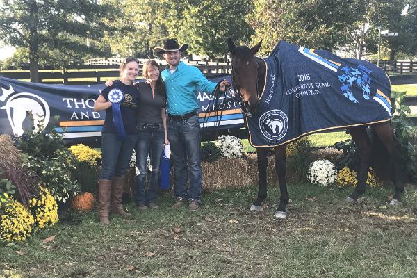 TAA Grads Find Success at Thoroughbred Makeover