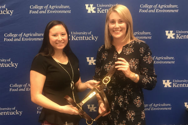 TAA's Alex Kokka Named UK Ag Equine Program Outstanding Intern