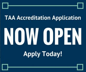 2019 TAA Accreditation Application Now Available