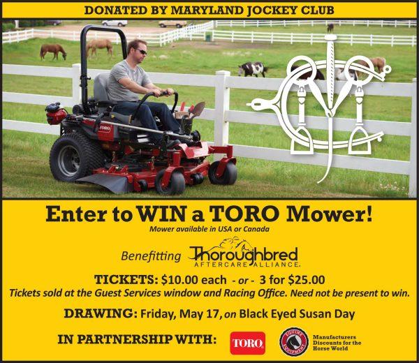Toro Mower Contest Benefits the TAA