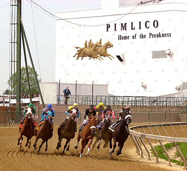 Pimlico Race Course turn Jim McCue
