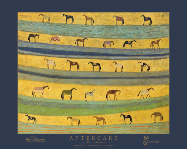 TAA Partners with Ellen Skidmore, MJC to Offer Limited-Edition Print at Preakness