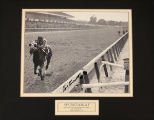 secretariat and jockey Ron Turcotte