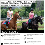 Canter for the Cause GP 2019 flyer