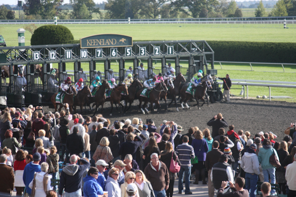 Keeneland Betting Terminals Allow Horseplayers to Donate to TAA