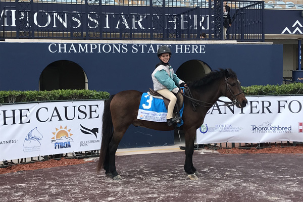 Inaugural Canter for the Cause Huge Success at Gulfstream