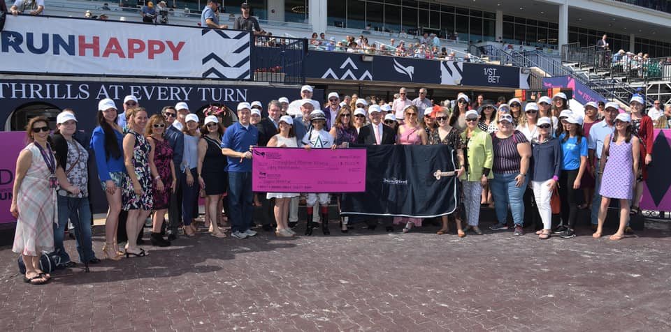 TAA and Accredited Organizations Accept Check from Gulfstream Park