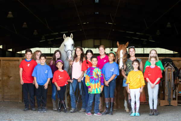ACTT Naturally's off-track Thoroughbreds, Harlem Rocker and Three Lions, and the Saratoga Springs Regional YMCA Lend-A-Hand Camp_edited